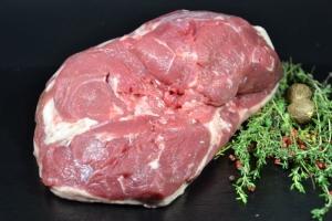 Lammkeule ohne Knochen - vom Hohenloher Weidelamm (Gewicht: 1000g)