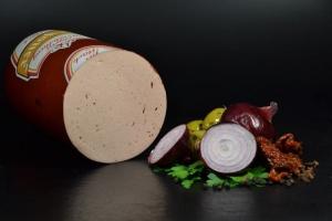 Feinkost Lyoner - mit edlen Naturgewürzen -  hausgemacht (Gewicht Lyoner - Cervela: 250 g)