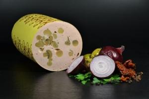 Feinkost Champignon Lyoner - aufgschnitten (Gewicht: 250 g)