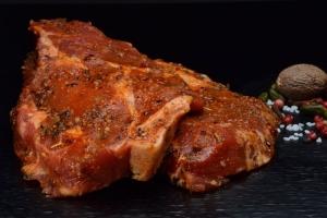 Winzersteaks vom Schweinehals - Schwäbisch-Hällisches (Gewicht: 3 Stck. ca.500g Winzersteaks vom Schweinehals)