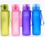 Casno Trinkflasche 400ml oder 560ml mit Schnellverschluß verschiedene Farben (Farbe: Blau 400ml)