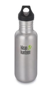 Klean Kanteen Classic Edelstahl silber Trinkflasche 532 ml einwandig