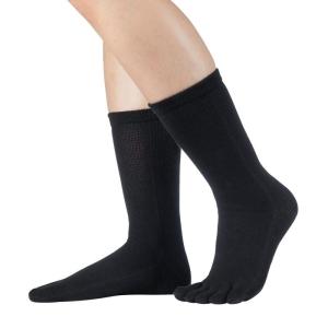 Knitido Essntials Wadenlange Zehensocken schwarz (Größe: Größe 39-42)