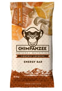 CHIMPANZEE - Energy Bar Vegan Cashew Caramel 55g - Energieriegel