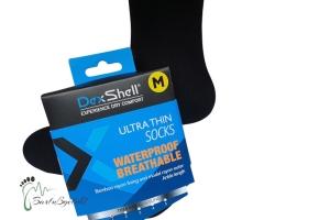 Dex Shell - Wasserdichte Socken - Ultra Thin (Größe: Large bis Größe 42 Fußlänge max 28,5 cm)