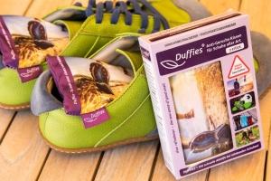 Duffies Anti-Geruchs-Kissen für Schuhe (Duffies Geruchs-Kissen: 1 Paar)