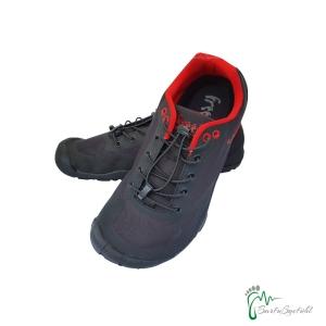 Freet Footwear Connect 2 -  Barfußschuhe schwarz/rot (Größe: EU 44)