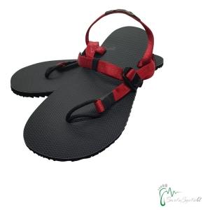 aborigen Sandals - Huarache Totem V2 rot - federleicht (Größe: EU 43 / 28 cm - 28,5 cm)