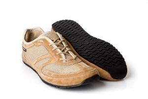 MS Receptor Explorer beige - ultraleichte Barfußschuhe-Laufschuhe (Größe: Größe EU 50 / 322 mm)