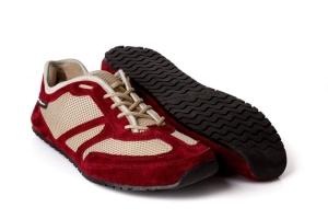MS Receptor Explorer rot-  ultraleichte Schnür Barfußschuhe-Laufschuh (Größe: Größe EU 36 / 231 mm)