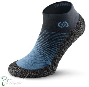 Skinners 2.0 - Marine - Barfussschuhe - vegan Socken mit Sohlen und Zehenschutz (Größe: XS EU 38/39 Fußlänge 25,0 cm)