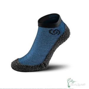 Skinners Socks   Barfussschuhe - Socken mit Sohlen und Zehenschutz - deep blue (Größe: M EU/FR 40/43)