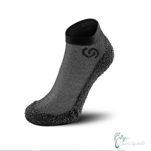 Skinners Socks   Barfussschuhe - Socken mit Sohlen und Zehenschutz - Monolith grey (Größe: M EU/FR 40/43)
