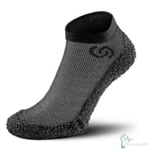 Skinners Socks   Barfussschuhe - Socken mit Sohlen und Zehenschutz - Monolith grey (Größe: M EU/FR 40/43   25,4cm - 26,8cm)