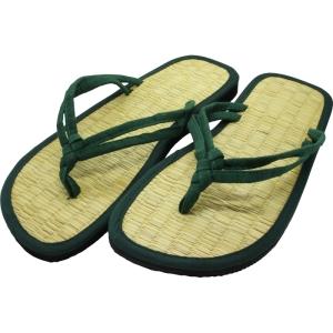 Zimtlatschen-Sandalen -Flip Flops-Siam  Zweiband grün (Farbe: 39-40 - 24,5 cm)