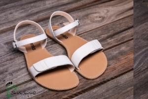 be lenka- Grace Sommer Sandalen-Barfußsandalen weiß (Größe: EU/38  24,5 cm lang 9,8 cm breit)