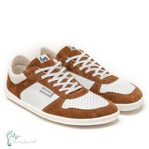 be lenka-Sneaker Champ brownie/weiß - Barfußschuhe (Größe: EU/42  26,8 cm  lang 10,3 cm breit)