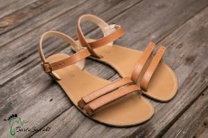 be lenka-Sommer Sandalen-Barfußsandalen braun (Größe: EU/39  25,0 cm  lang 10 cm breit)