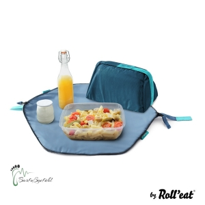 Roll′eat - Eat′n′out Mini Eco Lunchbag, 1.25l blau