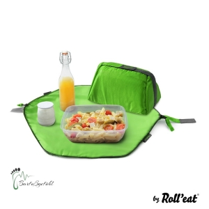 Roll′eat - Eat′n′out Mini Eco Lunchbag, 1.25l grün