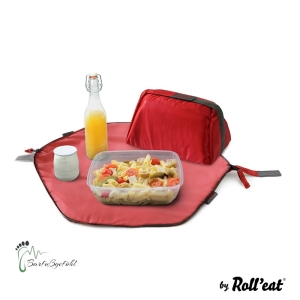 Roll′eat - Eat′n′out Mini Eco Lunchbag, 1.25l rot