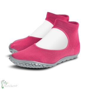 leguano ballerina Barfußschuhe pink (Größe: S 38-39)
