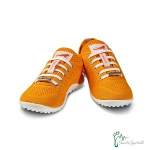 leguano Barfußschuhe - Sneaker go:orange (Größe: EU/FR 44)