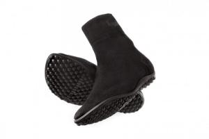 leguano Classic   Barfussschuhe - Socken mit Sohlen schwarz (Größe: XS EU/FR 36-37)