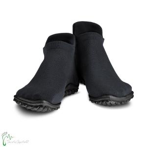 leguano sneaker   Barfussschuhe - Sockenschuhe - schwarz (Größe: S EU 38/39)