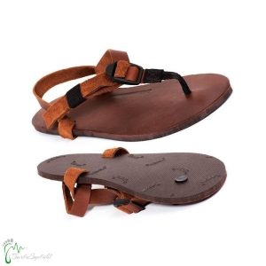 Shamma Sandals - All Browns - Sandalen aus Bullenleder (Größe: 6 (23,6-23,9 cm))