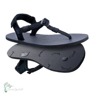 Shamma Sandals Chargers - Huarache Sandalen - schwarz (Größe: 10 (26,5-27,3 cm))