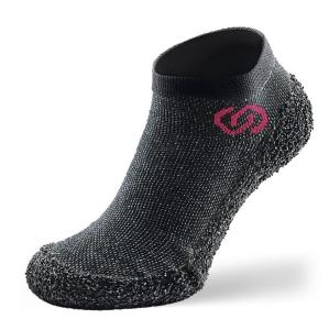 Skinners Socks   Barfussschuhe - Socken mit Sohlen und Zehenschutz -speckled black (Größe: L EU/FR 43/45)