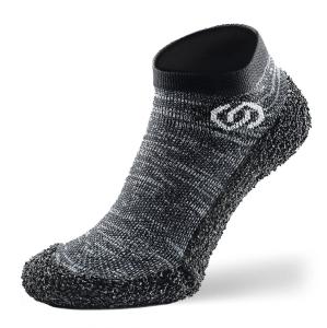 Skinners Socks   Barfussschuhe - Socken mit Sohlen und Zehenschutz -granite grey (Größe: S EU/FR 38/40)