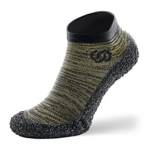 Skinners Socks   Barfussschuhe - Socken mit Sohlen und Zehenschutz - olive green (Größe: M EU/FR 40/43)