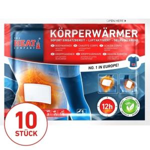 Köperwärmer-10er Vorteilspack- THE Heat Company - ca. 12 Std. Wärme (Kopie)