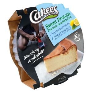 Fitness-Proteinkuchen Zitronen-Quarkkuchen - 450g - glutenfrei - aromaverpackt
