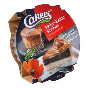 Cakees - Mohnkuchen mit Rahmdecke - 500g