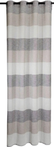 Vor-x-Gardine Ösenschal Marit 130 x 245 cm (1 Stück) (Maße des Vorhangs / Ösenschals: 130 cm x 245 cm)