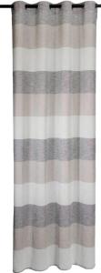 Vor-x-Gardine Ösenschal Marit -  creme   Maßanfertigung (1 Stück) (Höhe des Vorhangs / Ösenschals: bitte richtige Größe auswählen)