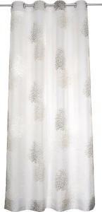 Vor-x-Gardine Ösenschal Bellinda   taupe - Höhe 145 cm - 245 cm (Maße des Vorhangs / Ösenschals: 135 cm x 145 cm)