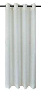 Vor-x-Gardine Ösenschal Metis   creme - Höhe 145 cm - 245 cm (Maße des Vorhangs / Ösenschals: 140 cm x 145 cm)