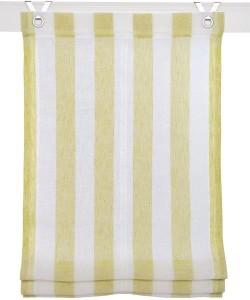 Raffrollo / Ösenrollo Bornholm zum komplett werkzeuglosen Aufhängen   grün - Breite 45 - 100 cm (Breite des Raffrollos / Ösenrollos: 45 cm x 130 cm)