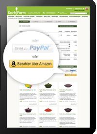 Neue Zahlart: Amazon Payments - einfach, schnell & sicher