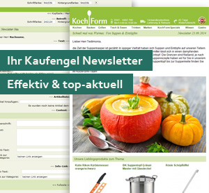 Neues Newsletter-Design für Kaufengel Onlinehändler