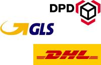 Standard Paketschein – DHL, GLS & DPD